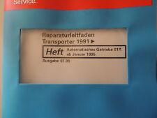 Vw t4 Réparation Guide Boîte de vitesses automatique 01p à partir de 01.95 Atelier Manuel
