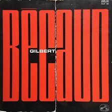 LP/33T/VINYLE - GILBERT BECAUD 1964 - AUTOGRAPHE
