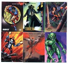 SUPER HEROS/HEROES/VILAINS Lot de 6 Cartes Neuves N° SH 149
