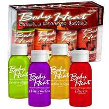 4 Body Heat Personal Lubricant Lube Warming Massage Oil Lotion Sex Enhancer
