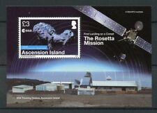 Ascension Island 2014 MNH Rosetta Mission Comet ESA 1v M/S Space Stamps