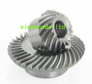 CNC Bridgeport Milling Machine C77+C96 J Head Gear Tilt Turbine Adjustable Worm