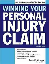 Winning Your Personal Injury Claim (Win Your Personal Injury Claim)-ExLibrary