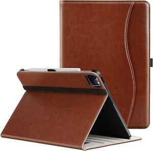 NEW 2021 Apple iPad Pro 12.9 Case Premium Leather Folio Stand Smart Sleep Cover