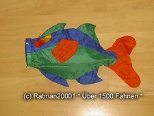 Fahnen Flagge Windsack Fisch - 4 - 55 cm