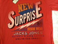 JACK & JONES T-SHIRT ROUNDNECK - NEW SURPRISE - XL