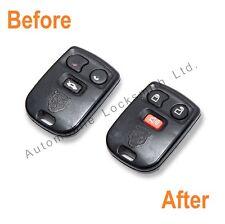 For Jaguar S-Type 3 Button Remote Key Alarm Fob Repair Service Refurbishment