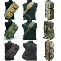 Tactical MOLLE Assault Go Bag Shoulder Sling 1000D Cordura Hiking Camping Pack