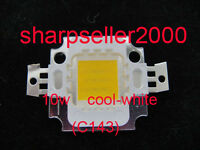 10pcs 10W LED Cool White High Power Bright 900LM LED Lamp SMD Bulb Chip 9-12V DC