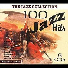 100 Jazz Hits 8 CD BOX SET  CHARLIE PARKER ella fitzgerald duke ellington