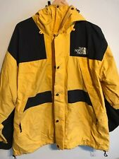 Vintage THE NORTH FACE Mens MOUNTAIN GUIDE Jacket   90s GORETEX   XL Yellow