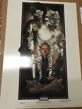 "Ahsoka Tano ""Pieces of The Past"" 209/250 SW Celebration Europe 2016 Signed RARE"