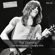 PAT TRAVERS New Sealed 2018 UNRELEASED LIVE 1976 CONCERT DVD & CD SET