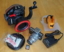 Olympus PEN E-PL3 12.3MP Digital Camera & 14-42mm & PT-EP05L Housing. No Res!