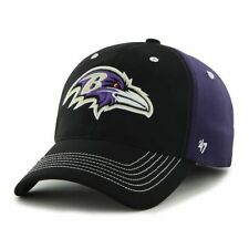 Baltimore Ravens '47 Brand Carson Closer Flex Fit Hat -Purple/Black