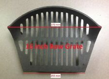 Fire Grate Stool Bottom Cast Iron Round Bow Fronted Open Fire ( 16 & 18 inch )