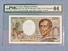 France 200 Francs P-155-A 1983  PMG 64