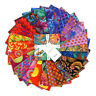 """KAFFE FASSETT COLLECTIVE FEBRUARY 2020 WARM CHARMS 42 PCS 5""""X5"""" FABRIC SQUARES"""