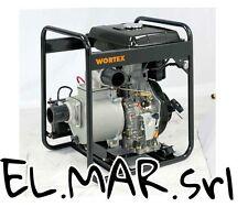 Motopompa Alta Portata 6 HP Diesel Autoadescante HW80 pompa irrigazione