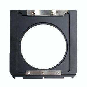 Linhof Wista Ebony 4x5 To Technika 6x9 2x3 Lens Board Adapter 96x99mm To 75x82mm