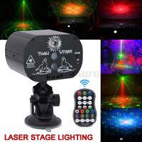 60 Muster Laser Bühnenlicht RGB LED USB DJ KTV Projektor Disco Party Lichteffekt