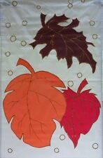 Falling Leaves Standard House Flag by Nce #70310