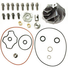 360 Powerstroke 7.3L GTP/TP38 Turbo Compressor Upgrade Rebuild Kit Wheel 5+5