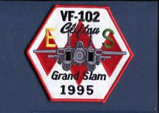 VF-102 DIAMONDBACKS 1995 Grand Slam E  S F-14 TOMCAT US Navy Squadron Patch