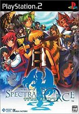Used PS2 Spectral Force: Radical Elements   Japan Import (Free Shipping)