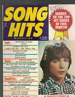 Song Hits Magazine May 1972 David Cassidy Jerry Reed Gene Chandler