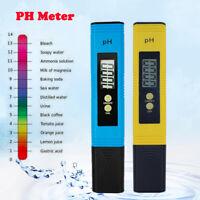 Digital Electric PH Meter LCD Tester Pocket Aquarium Water Test Pen Hydroponics