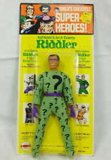 Vintage Mego Worlds Greatest Super Heroes Riddler Action Figure Kresge Card 1973