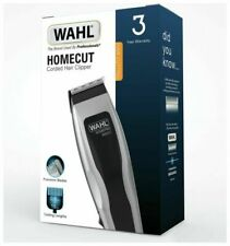 WAHL Homecut Corded Hair Clipper with 6 Attachments Home Barber Comb Scissors