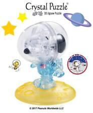 Jurnel DIY 3D Crystal Puzzle Jigsaw Toy Decoration Snoopy Astronaut Set 90427