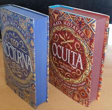 Nocturna/Oculta Maya Montayne Fairyloot Exclusive Editions Signed Sprayed Edges