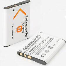 2 Pack 3.7V NP-BN1 Battery For Sony Cyber-shot DSC-QX10/T99/T110/TF1/TX200V/W310