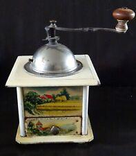 le moulin à café à images de grand mère - l'angélus