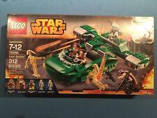 LEGO Star Wars 75091 Flash Speeder 75091 5 Minifigures Brand New Factory Sealed