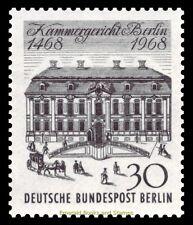 EBS West Berlin 1968 Kammergericht Berlin Michel 320 MNH**