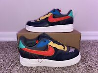 Nike Air Force 1 Low BHM Black History Month Size 7 CT5534-001 *BRAND NEW*