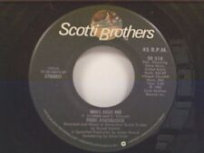 """FRED KNOBLOCK """"WHY NOT ME / CAN I GET A WISH"""" 45"""