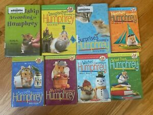 Lot of 8 THE WORLD ACCORDING TO HUMPHREY Series Books Betty G. Birney