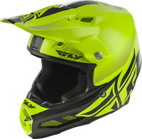 Fly Racing F2 CARBON MIPS Shield Hi-Vis/Black Offroad Motorcycle Helmet
