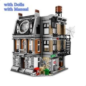 1072pcs 10840 Sanctum Doctor House Building Blocks