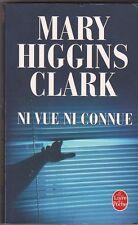 Mary Higgins Clark - Ni vue ni connue - TB état,  poche policier