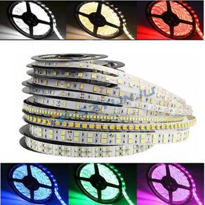 3528 2835 3014 5050 5054 5630 5730 SMD LED Strip Light Flexible 12V 16.4ft 5m