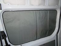 Mercedes Sprinter slider door window privacy curtain magnetic insulated Cordura