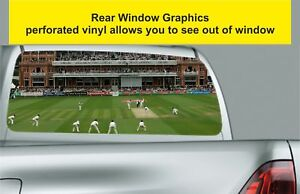 Window Graphic Tint Truck Jeep SUV 1St Ashes Test Lord'S 2005 Sticker 1132