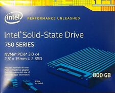 Intel SSDPE2MW800G4X1 SSD 750 Series 800GB, 2.5in PCIe 3.0 x4, 20nm, MLC NEW