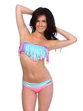 Sexy Womens Swimsuit Push Up Padded Bikini Lady Multi Color Swimwear XS S M L